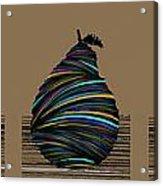 Pear 2003 Tan Acrylic Print