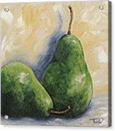 Pear Duet Acrylic Print