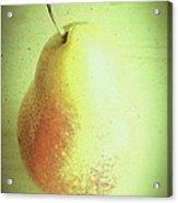 Summer Pear Acrylic Print