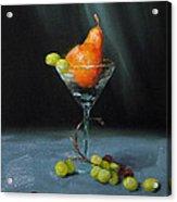 Pear Martini Acrylic Print