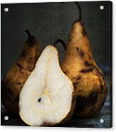 Pear Still Life Acrylic Print