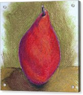 Pear Study 3 Acrylic Print