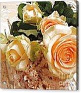 Pearl Roses Acrylic Print