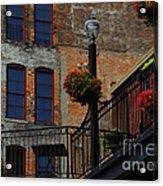 Pearl Street Grill Acrylic Print