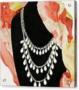 Pearl Tiers Acrylic Print