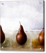 Pears In The Clouds Acrylic Print