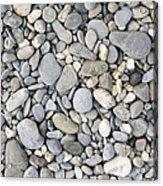 Pebble Background Acrylic Print
