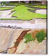 Pebble Beach Sand Acrylic Print