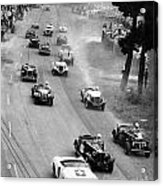 Pebble Beach California Sports Car Races Auto Road Race April 11 1954 Acrylic Print