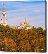 Pechersk Lavra Tower Bell Acrylic Print