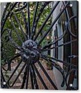 Peek Into Courtyard Acrylic Print