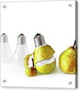 Peeled Bulb Acrylic Print