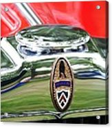 Peerless Radiator Emblem Acrylic Print