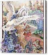 Pegasus Acrylic Print by Lynette Yencho