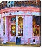 Peggy Porschen Cakes Paris Acrylic Print
