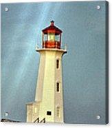 Peggy's Cove Lighthouse 2 Acrylic Print