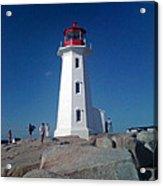 Peggy's Cove Lighthouse Acrylic Print