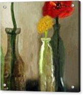Peggy's Flowers Acrylic Print