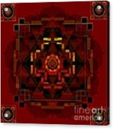 Pele Goddess Of Fire 2013 Acrylic Print
