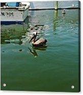 Pelican John 3/16 Boat Acrylic Print