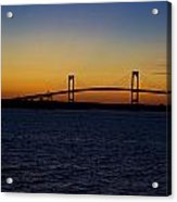 Pell Bridge Acrylic Print