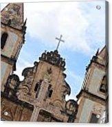 Pelourinho Church Acrylic Print