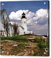 Pemaquid Complex Acrylic Print by Skip Willits