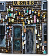 Pemaquid Lobster Shack Acrylic Print