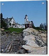 Pemaquid Point Light House Acrylic Print