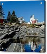 Pemaquid Point Reflections Acrylic Print