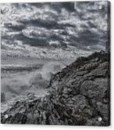 Pemaquid Seas Acrylic Print