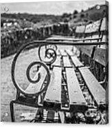 Pembroke Bench  Acrylic Print