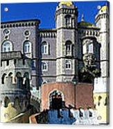 Pena National Palace Acrylic Print