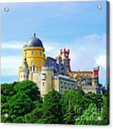 Pena Palace In Sintra Acrylic Print