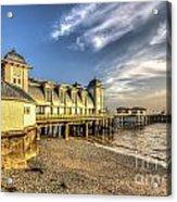 Penarth Pier Dawn 2 Acrylic Print