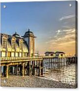 Penarth Pier Dawn Acrylic Print
