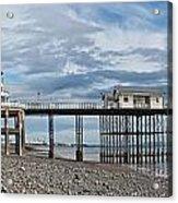 Penarth Pier Panorama 1 Acrylic Print