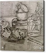 Pencil Still-life. Acrylic Print