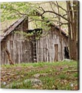 Pendleton County Barn Acrylic Print by Randy Bodkins