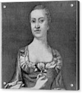Penelope Barker (1728-1796) Acrylic Print