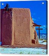 Penitente Morada Christian Church At Abiquiu New Mexico Acrylic Print
