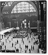 Penn Station Nyc 1957 Acrylic Print