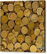Pennies - 3 Acrylic Print
