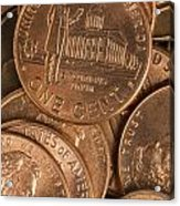 Pennies 8 Acrylic Print
