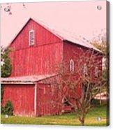 Pennsylvania Barn  Cira 1700 Acrylic Print