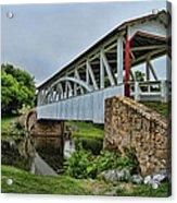 Pennsylvania Covered Bridge Acrylic Print