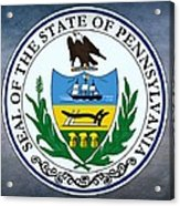 Pennsylvania State Seal Acrylic Print