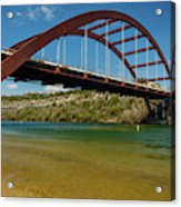 Pennybacker 360 Bridge, Austin, Texas Acrylic Print