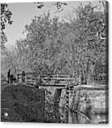 Pennyfield Lock Chesapeake And Ohio Canal Acrylic Print