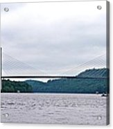 Penobscot Narrows Bridge Acrylic Print